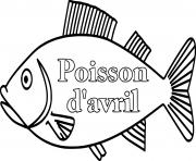 Coloriage grand poisson davril