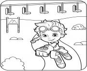 Free Printable Rusty Rivets dessin à colorier
