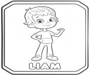 Coloriage rusty rivets 3 liam