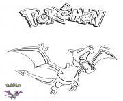 Coloriage Aerodactyl Pokemon