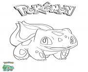 Coloriage Bulbasaur Pokemon