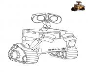Wall E Disney dessin à colorier