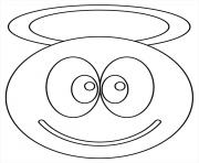 Coloriage Smiley à Imprimer Dessin Sur Coloriage Info