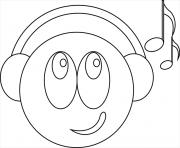 Coloriage Smiley A Imprimer Gratuit Sur Coloriage Info