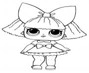 Coloriage LOL Doll Printable