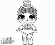 LOL Surprise Doll Cozy Babe dessin à colorier