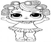 Coloriage Baby Doll Lol Surprise Dollz