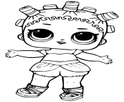 Coloriage Sis Swing Doll from LOL Surprise dessin