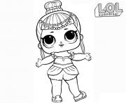 Coloriage Leading Baby from LOL Surprise dessin