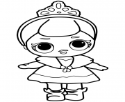 Coloriage lol doll hoops mvp glitter dessin