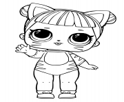 Coloriage Page of LOL Doll Vacay Babay dessin