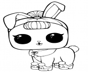 Coloriage LOL Surprise Pets Page Crystal Bunny