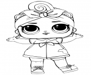 Coloriage Can Do LOL Surprise Series 3 Baby dessin