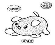Coloriage Pikmi Pops Dog Pichi