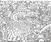 Coloriage anti stress adulte cultura fantastique