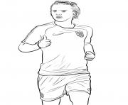 antoine griezmann joueur france coupe du monde 2018 dessin à colorier