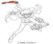 beyblade burst Ryuga dessin à colorier