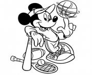 Coloriage sport disney
