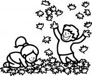 automne cp enfants dessin à colorier