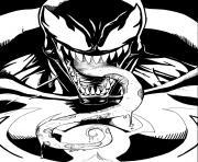 Coloriage venom imprimer dessin sur - Coloriage venom ...