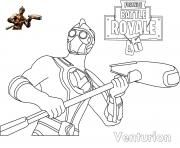 Coloriage Fortnite Venturion Skin