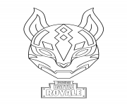Coloriage drift ultimate mask fortnite