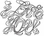Coloriage st valentin enfants amoureux dessin