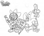 Coloriage Sponegbob Bet