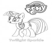 Coloriage Twilight Sparkle MLP