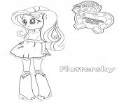 Coloriage Equestria Girls