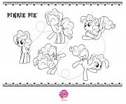 Coloriage pinkie pie my little pony