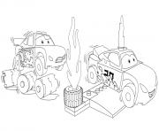 lego cars 3 jackson storm racing dessin à colorier