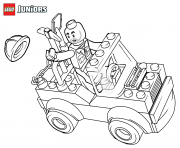 lego construction mini truck dessin à colorier