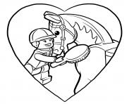 lego pony pals dessin à colorier