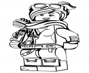 LEGO Lucy la grande aventure 2 dessin à colorier
