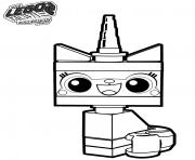 LEGO Unikitty la grande aventure 2 dessin à colorier