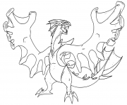 Coloriage pokemon legendarios