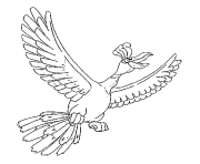 Coloriage Regirock generation 3 dessin