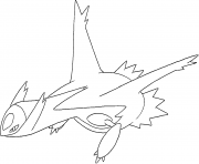 Coloriage Latios generation 3