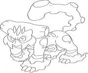 Demetros t generation 5 dessin à colorier
