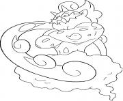 Boreas trio des genies generation 5 dessin à colorier
