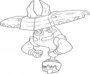 Tokotoro Pokemon tutelaires Generation 7 dessin à colorier