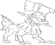 Coloriage Type 0 Pokemon Multigenome Generation 7