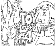 Coloriage toy story 4