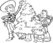 Coloriage buzz lightyear Toy Story dessin