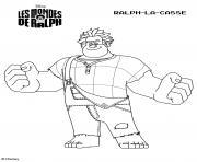 disney les mondes de ralph 2 dessin à colorier