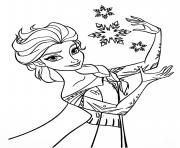 Coloriage disney la reine des neiges 2