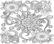 Coloriage mandalas to download for free 24  dessin