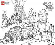 Lego City Volcano Explorers dessin à colorier