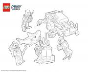 Coloriage Lego City Deep Sea Starter Set
